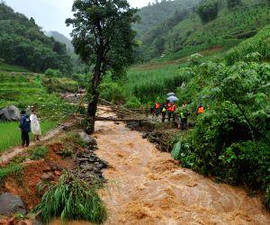 A mudslide