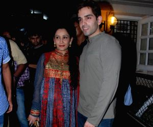 Manyata Dutt at 'Once upon a time in Mumbai' success bash hosted by Ekta Kapoor at Crosswrod book store.