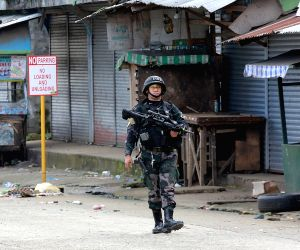 PHILIPPINES MARAWI CITY SECURITY MILITARY