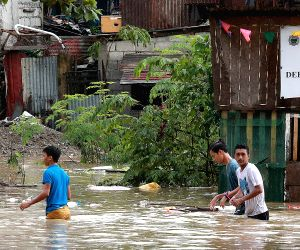 PHILIPPINES MARIKINA HEAVY RAIN FLOODS