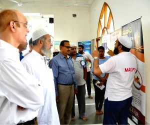 Hyderabad mosque opens doors for people of all faiths