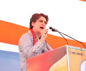Atrocities against women highest in Assam: Priyanka (Ld)