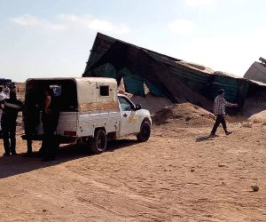 EGYPT MATROUH TRUCK BUS ACCIDENT