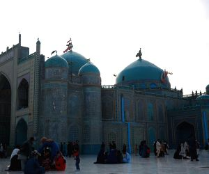 AFGHANISTAN-BALKH-BLUE MOSQUE