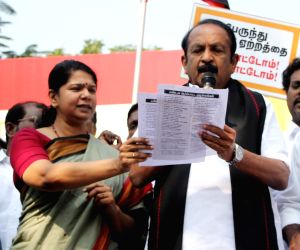 Opposition parties protest against bus fare hike