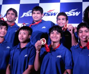 Glasgow CWG Medal winners felicitated