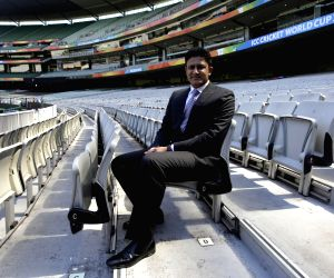 Melbourne (Australia): Melbourne: Anil Kumble - Inducted in the (ICC) Cricket Hall of fame