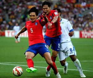 AUSTRALIA-MELBOURNE-AFC ASIAN CUP-QUARTERFINAL-KOR VS UZK
