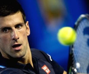 (SP)AUSTRALIA MELBOURNE TENNIS DJOKOVIC