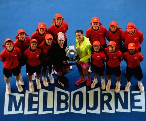 AUSTRALIA MELBOURNE TENNIS AUSTRALIA OPEN WOMEN'S DOUBLES FINAL