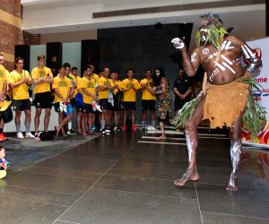 AUSTRALIA MELBOURNE FOOTBALL ASIAN CUP WELCOME CEREMONY