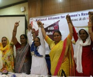 Centre for Social Research,National Alliance for Women's Reservation Bill press conference
