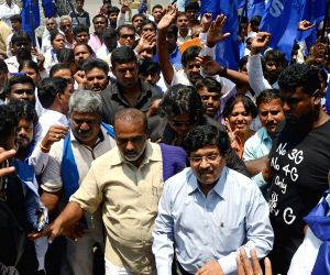 Ambedkar Jayanti rally - Anandraj Ambedkar