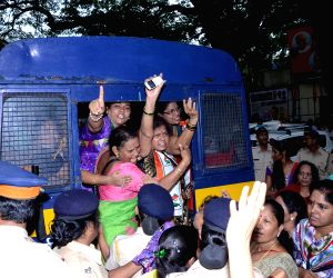 NCP Women Cell's demonstration