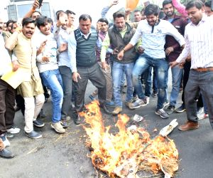 Rajput Samaj protests ahead of 'Padmaavat' screening
