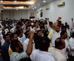 Maratha community's demonstration