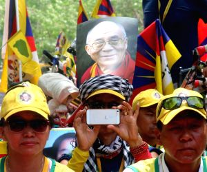 Tibetan Youth Congress demonstration against China