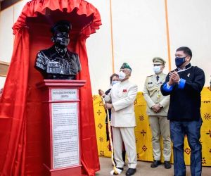 Memorial of Maj Khathing who set up Indian control over Tawang to come up