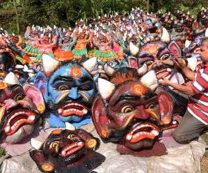Panaji bans large effigies of demon Narakasura during Diwali
