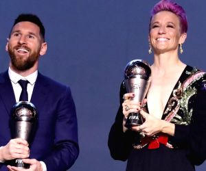 Lionel Messi and  Megan R