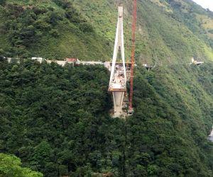 COLOMBIA META BRIDGE COLLAPSE