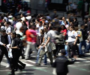 Mexico City: International Pedestrian Day