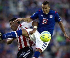 MEXICO-MEXICO CITY-SOCCER-CRUZ AZUL VS CHIVAS