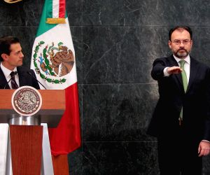 MEXICO-MEXICO CITY-NEW FOREIGN MINISTER