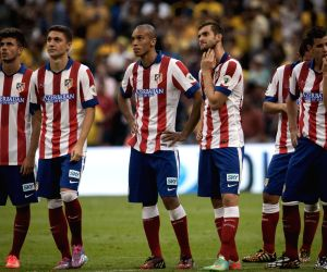 Atletico de Madrid v/s America during EuroAmerican Cup