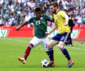 MEXICO-MEXICO CITY-SOCCER-MEXICO VS SCOTLAND
