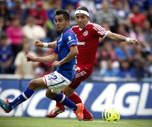 MEXICO-MEXICO CITY-SOCCER-CRUZ AZUL VS XOLOS