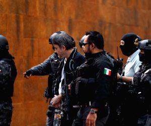MEXICO MEXICO CITY DRUG LORD ARRESTED