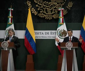 MEXICO MEXICO CITY COLOMBIA POLITICS VISIT