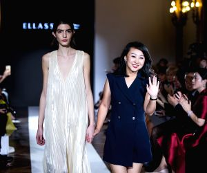 ITALY MILAN FASHION WEEK CHINESE FASHION HOUSE ELLASSAY