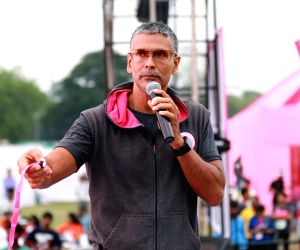 Gymming does not work for me : Milind Soman