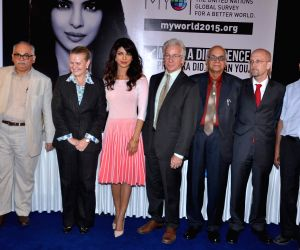 Priyanka Chopra launches mobile application for UNICEF's My World