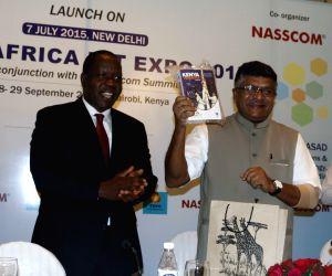 Ravi Shankar Prasad launches Indo-Africa ICT Expo 2015