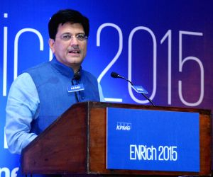 Enrich 2015 - KPMG in India's Annual Energy Conclave - Piyush Goyal