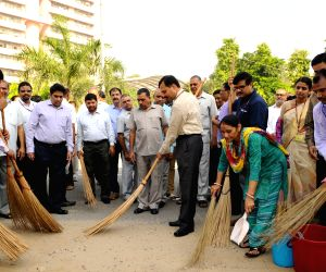 Swachhta Hi Sewa' campaign - I&B Secretary N.K. Sinha