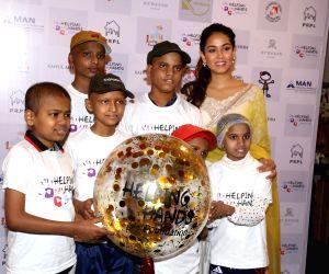 Mira Rajput during Helping Hands programme