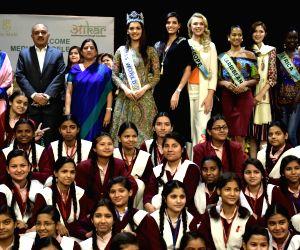Miss World 2017 Manushi Chillar during a programme