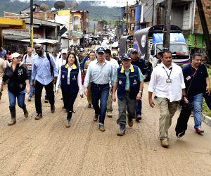 COLOMBIA MOCOA LANDSLIDE