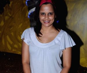 Aanchal Kumar poses during her birthday party