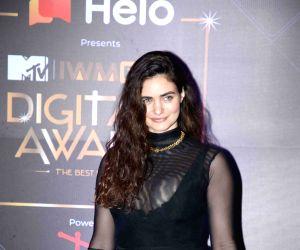 Celebs at MTV - IWMBuzz Digital Awards 2019 - Arjun Rampal, Gabriella Demetriades