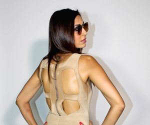 """Pooja Mishra during an interview for upcoming music video """"Hotter Than You"""