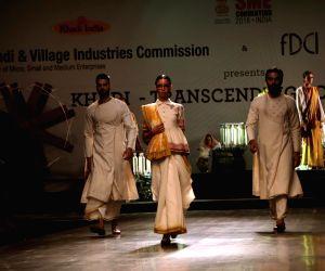 """FDCI Fashion Show """"Khadi - Transcending Boundaries"""" - Anju Modi"""
