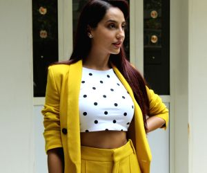 Nora Fatehi seen at T series' office