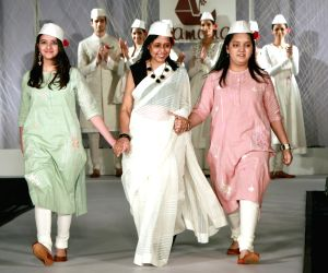 Tamana and FDCI hosted Khadi Fashion Show - Anju Modi