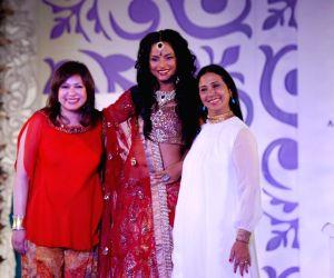 Model Walks for fashion designer Abhishek Dutta at Aamby Valley Indian Bridal Week day 4.