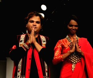 India Runway Week - fashion show to protest against rape, molestation